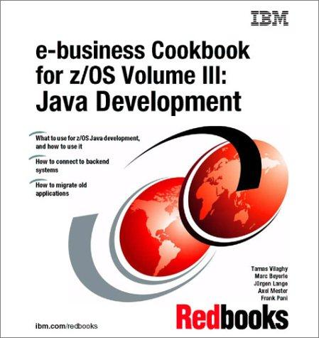 Download E-Business Cookbook for Z/OS