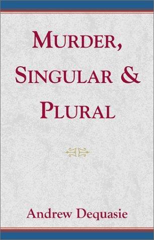 Download Murder, Singular & Plural
