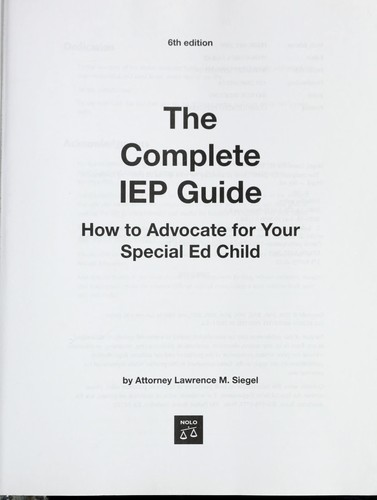 Download The complete IEP guide