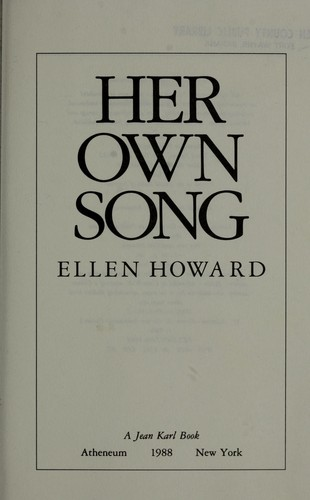 Her own song