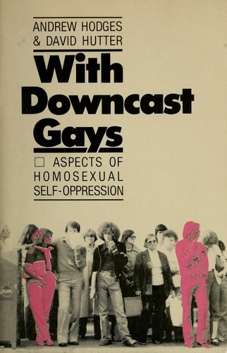 With downcast gays