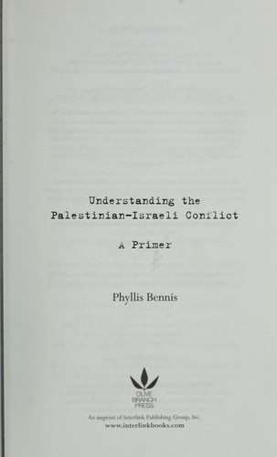 Download Understanding the Palestinian-Israeli conflict