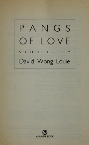 Pangs of love