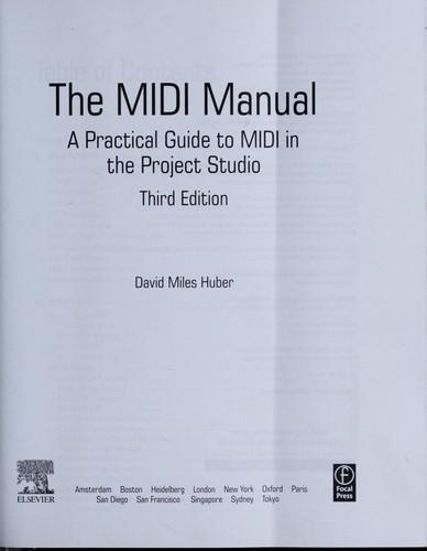 Download The MIDI manual