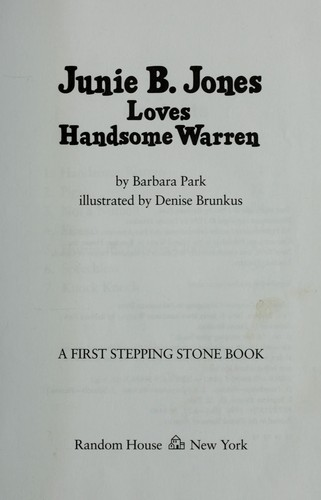 Download Junie B. Jones loves handsome Warren