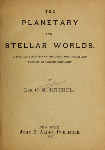 Download The planetary and stellar worlds.