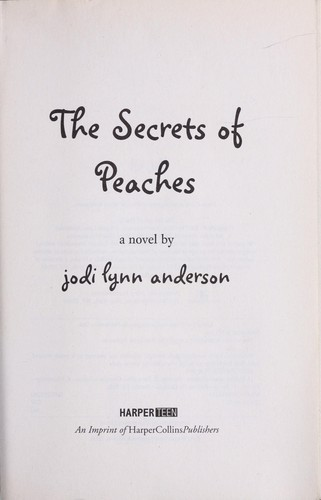 The secrets of peaches
