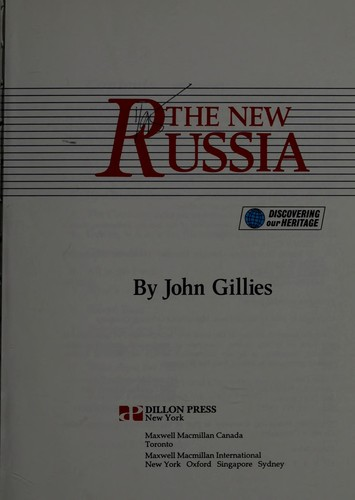 The New Russia by Gillies, John