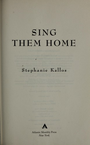 Download Sing Them Home