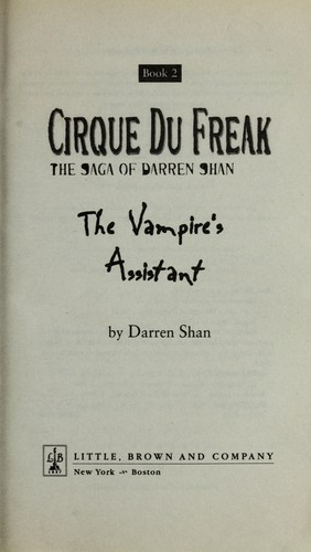 Download The vampire's assistant