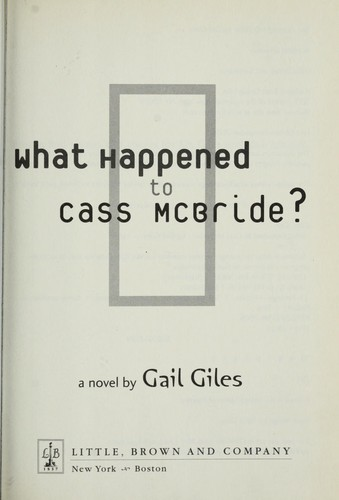 Download What happened to Cass McBride?