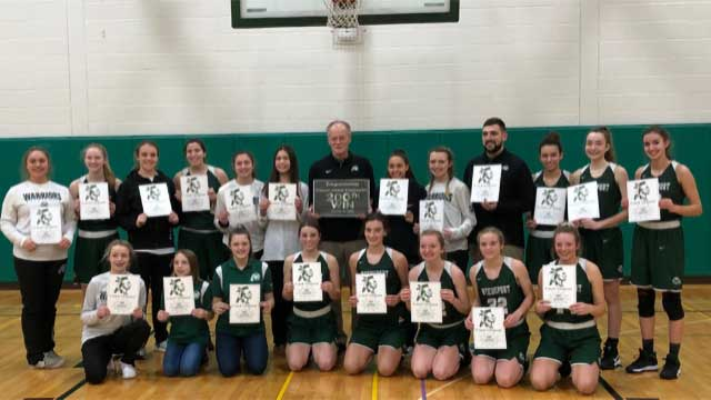 Weedsport girls basketball coach Chris Vargason records 200th career win