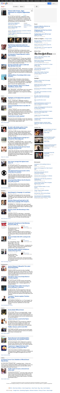 Google News at Tuesday May 1, 2012, 11:07 p.m. UTC