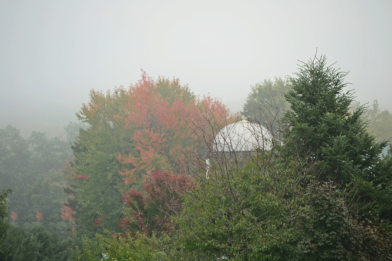 Fog Rolling into Ontario County (photo)