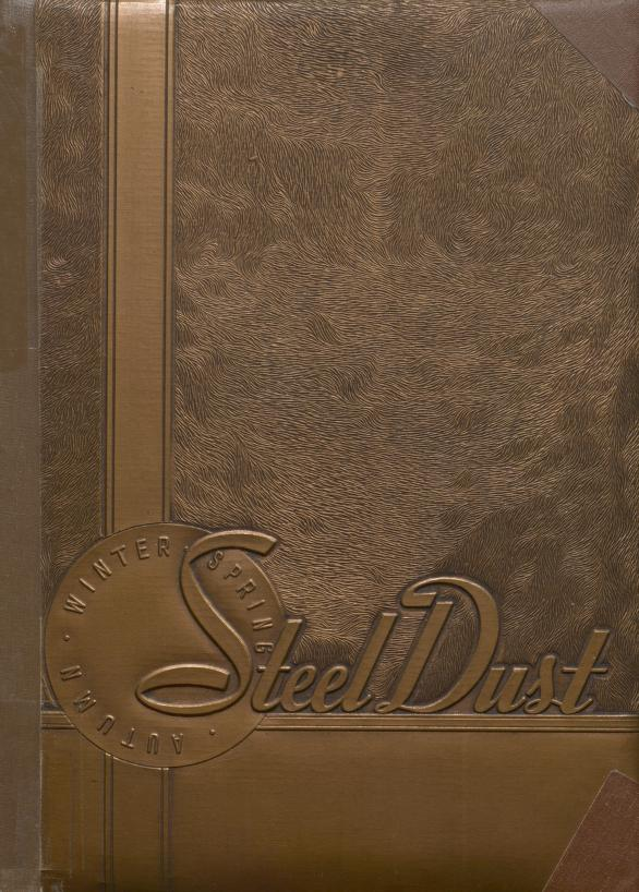 Cover image of Froebel High School yearbook, steeldust