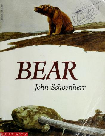 Cover of: Bear | John Schoenherr