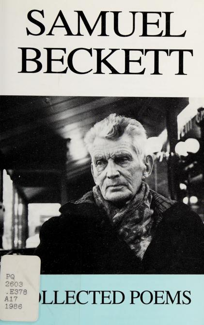 Collected poems, 1930-1978 by Samuel Beckett