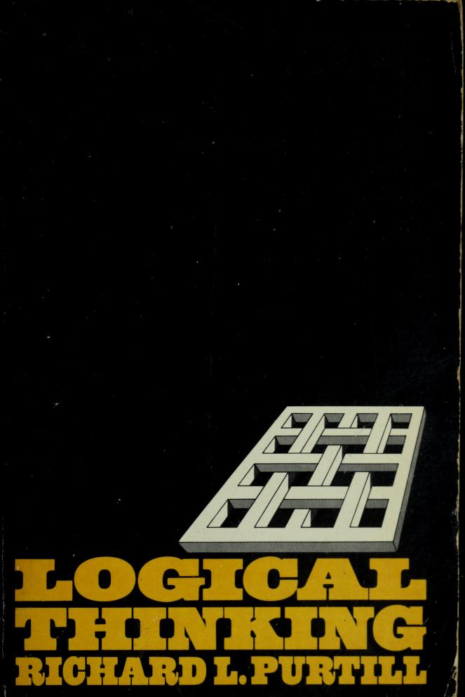 Logical thinking by Richard L. Purtill