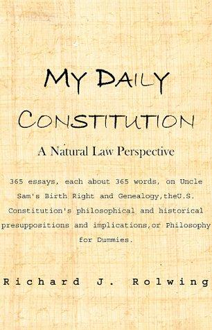 My Daily Constitution