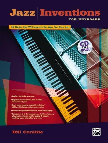Jazz Inventions for Keyboard by Bill Cunliffe