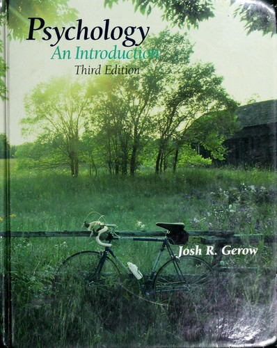 Psychology by Joshua R. Gerow