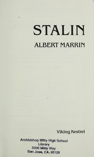 Stalin by Albert Marrin