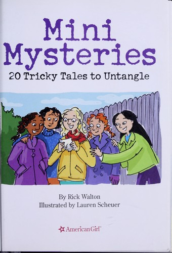 Mini mysteries by Rick Walton