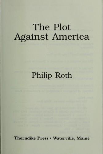 Zagovor protiv Ameriki