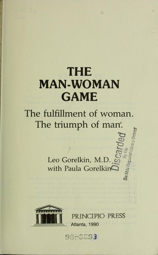 The man-woman game by Leo Gorelkin