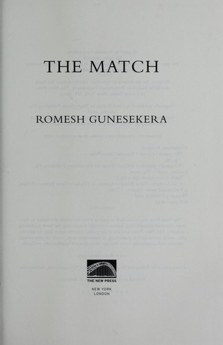 The match by Romesh Gunesekera