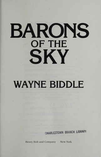 Barons of the sky by Wayne Biddle